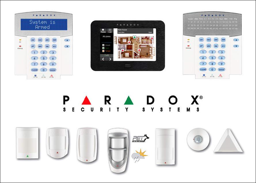 Elektronikus biztonságtechnika alapja a PARADOX riasztórendszer