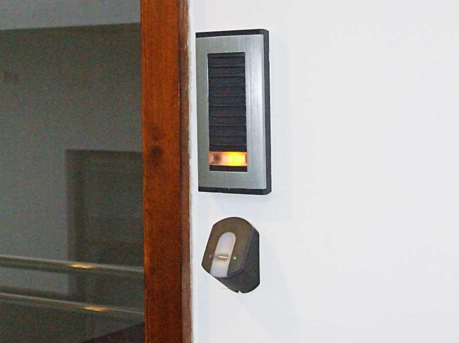 Az ujjlenyomat-azonosítós beléptető rendszernél minimalizált a visszaélés lehetősége