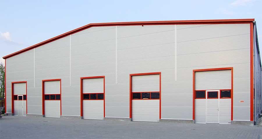 Az Ecotor ipari kapu stílusos megjelenést kölcsönözhet raktárépületének
